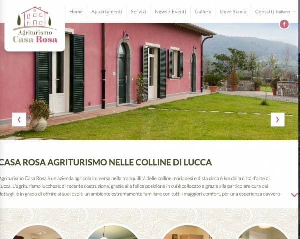 Agriturismocasarosalucca.com