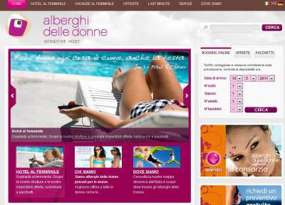 Alberghidelledonne.com