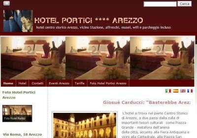 Hotelporticiarezzo.com