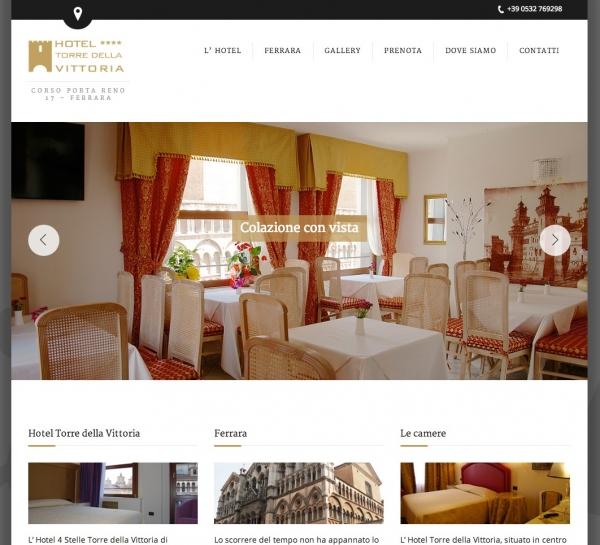 Hoteltorredellavittoriaferrara.com