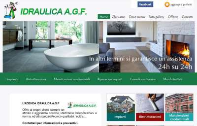Idraulicaagf.com