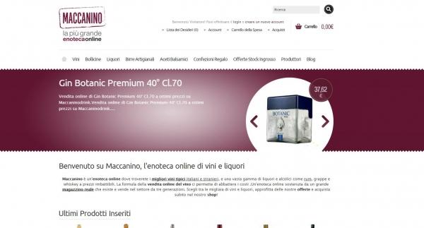 Maccaninodrink.com