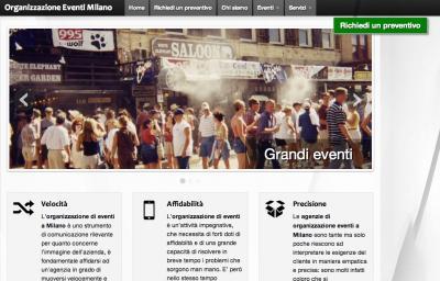 Organizzazioneeventimilano.it