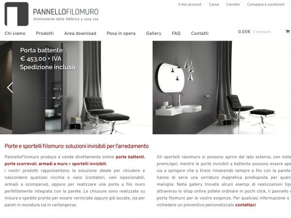 Pannello filo muro with siti per arredare casa online - Siti per arredare casa ...
