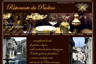 Ristorantedapaolino.com