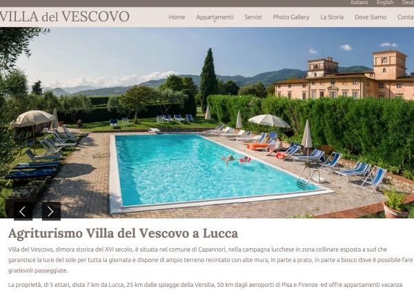 Villadelvescovo.com