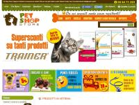 Alimenti Animali OnLine di Pet Shop Store